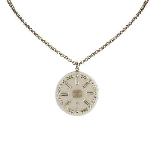 Chanel Medallion Pendant Necklace