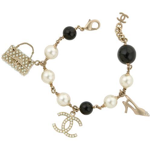 Chanel Shoe & Handbag Charm Bracelet