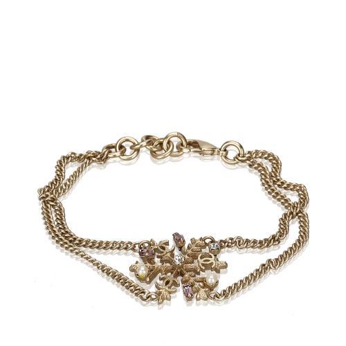 Chanel Crystal Snowflake Bracelet