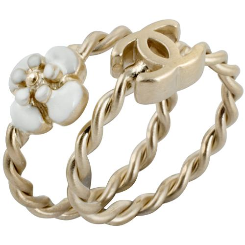 Chanel Stackable Flower Rings