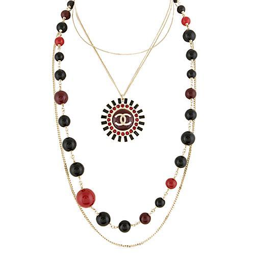 Chanel Starburst Multi Stand Necklace