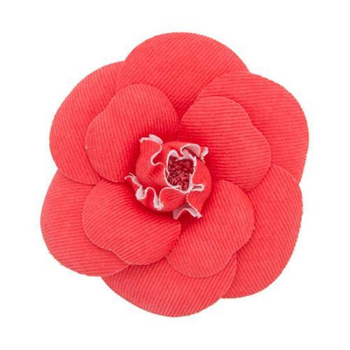 Chanel Vintage Camellia Brooch