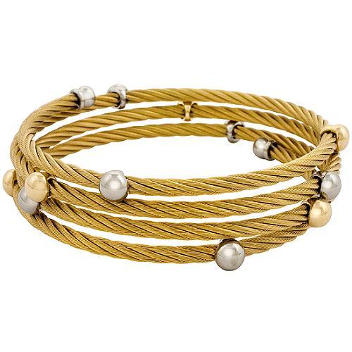 Charriol Cable Wrap Bracelet