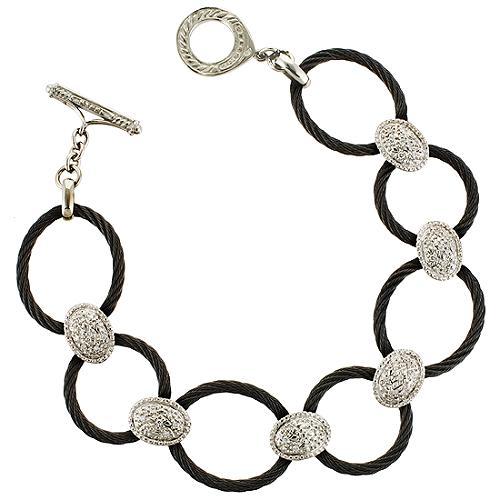 Charriol Celtic Noir Linque Bracelet