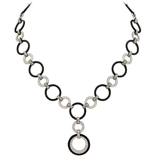 Charriol Celtic Noir Linque Necklace