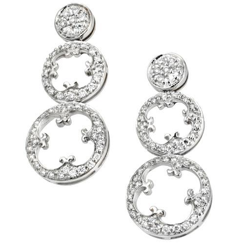 Charriol Cignature Drop Earrings