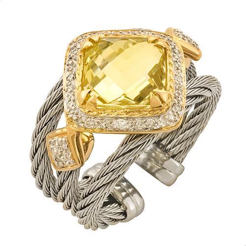 Charriol Classique Gemtone Ring