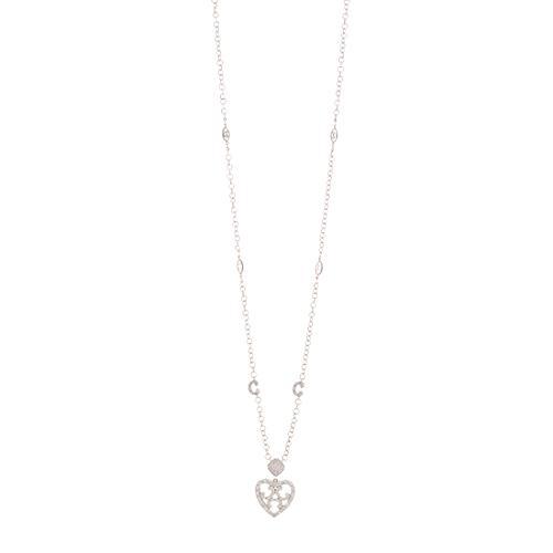 Charriol Diamond Heart Necklace