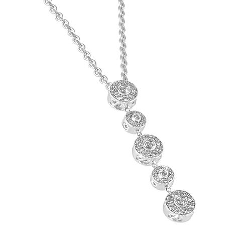 Charriol Flamme Blanche Necklace