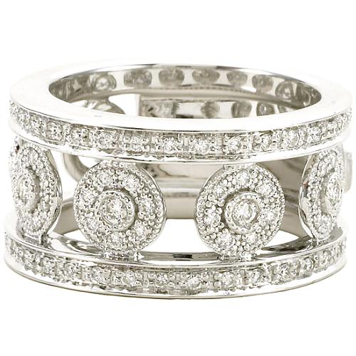 Charriol Flamme Blanche Ring