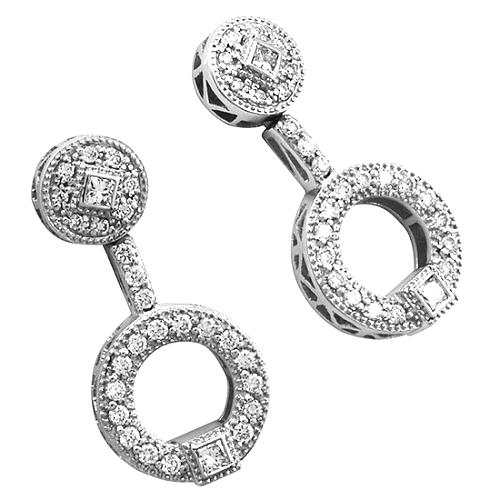 Charriol Princess Earrings