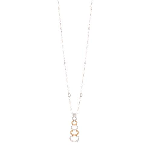 Charriol Signature Drop Necklace