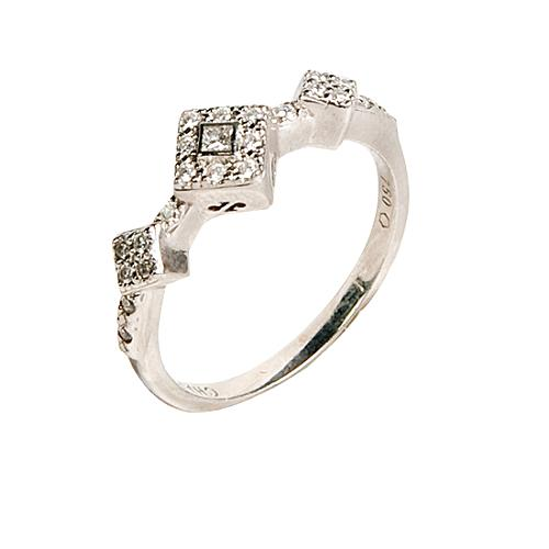 Charriol Stackable Diamond Ring - Size 7