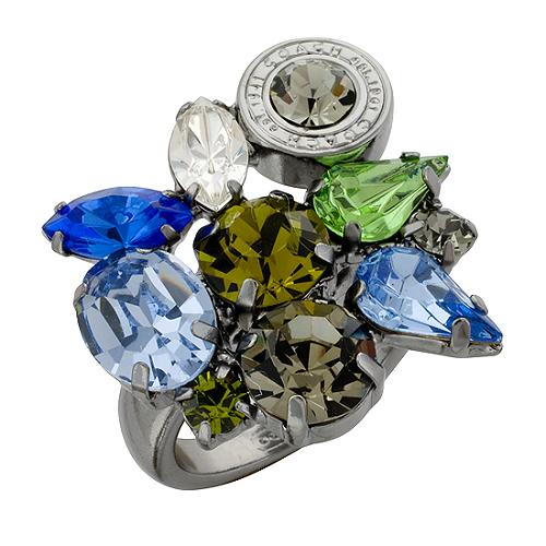 Coach Cluster Ring