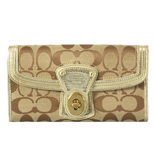 Coach Legacy French Wallet