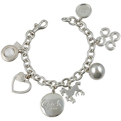 Coach Multi Charm Bracelet