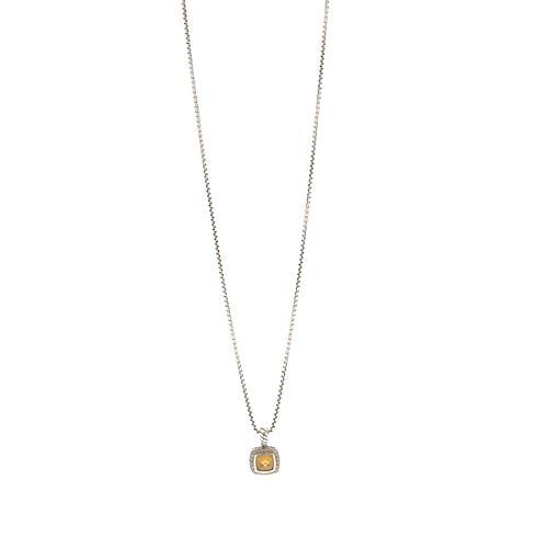 David Yurman 7mm Citrine Petite Albion Necklace