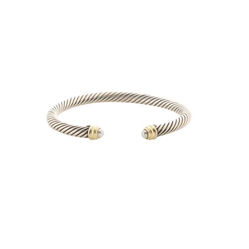 David Yurman Cable Classics 5mm Pearl Bracelet
