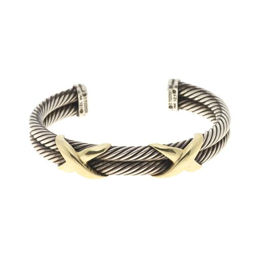 David Yurman Cable Double X 7mm Bracelet