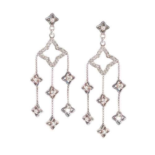 David Yurman Diamond Chandelier Earrings
