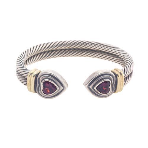 David Yurman Heart Waverly Bracelet