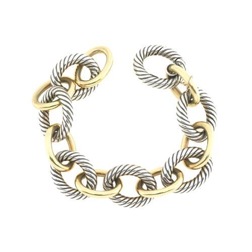 David Yurman Large Oval Link Chain Bracelet
