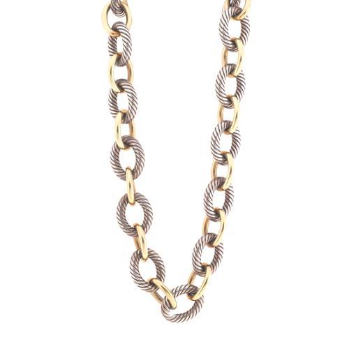 David Yurman Large Oval Link Chain Necklace