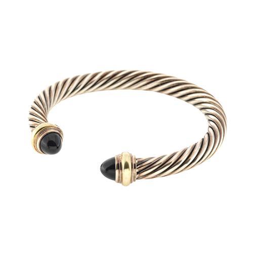 David Yurman Onyx Classic Cable Bracelet