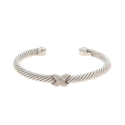 David Yurman Silver Ice Single X 5mm Bracelet