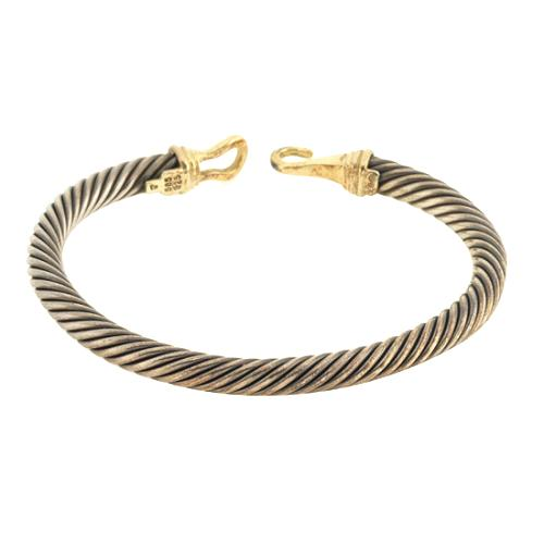 David Yurman Small Cable Buckle Bracelet