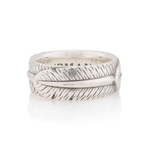David Yurman Sterling Silver Frontier Ring - Size 10