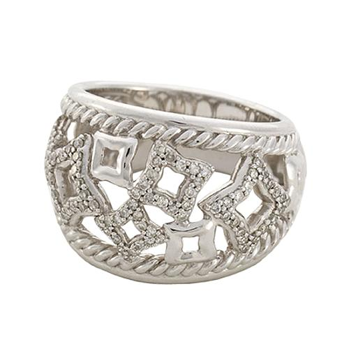 David Yurman Tapestry Domed Band Ring