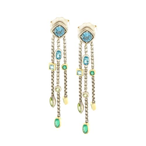David Yurman Topaz Confetti Tassel Earrings