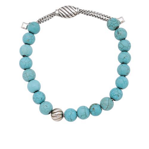 David Yurman Turquoise Spiritual Bead 8mm Bracelet