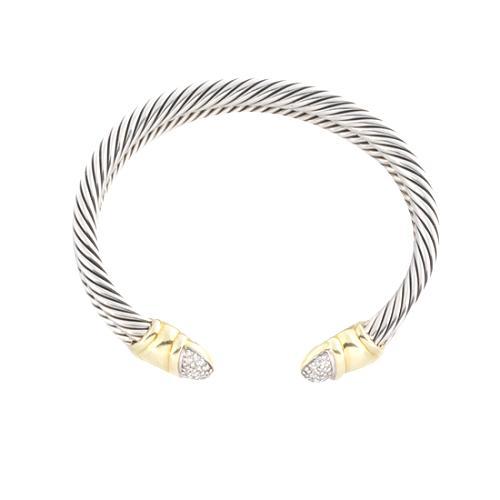 David Yurman Waverly Pave Diamond Bracelet