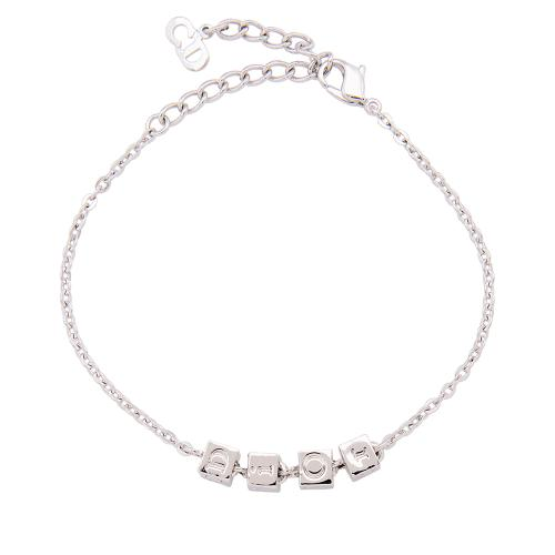 Dior Logo Cube Bracelet