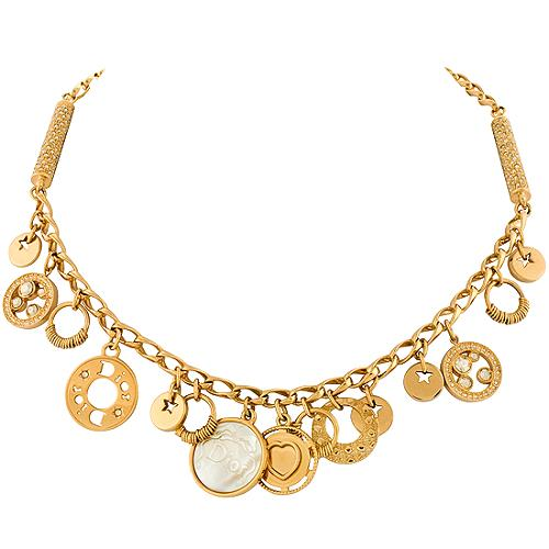 Dior Multi Medal Necklace