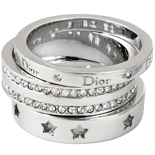 Dior Stackable Rings - Size 7
