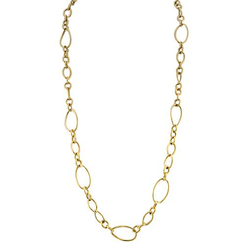Faraone Mennella by R.F.M.A.S. Gold Long Link Necklace