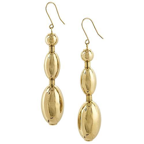 Faraone Mennella by R.F.M.A.S. Gold Tuka Tuka Earrings
