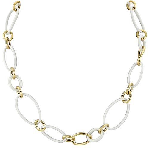 Faraone Mennella by R.F.M.A.S. White Link Necklace