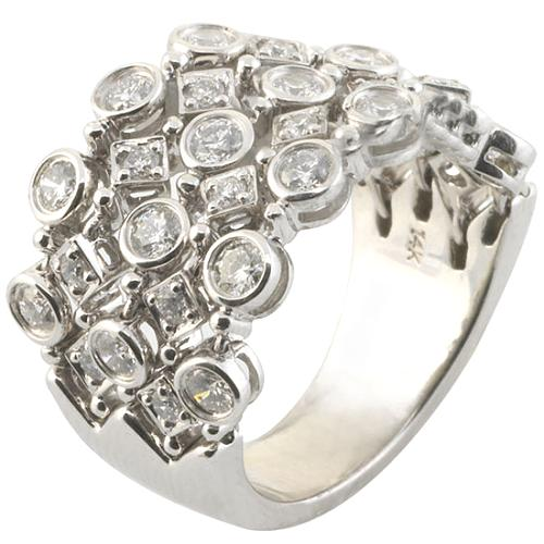 Gabriel & Co. Diamond Chain Ring