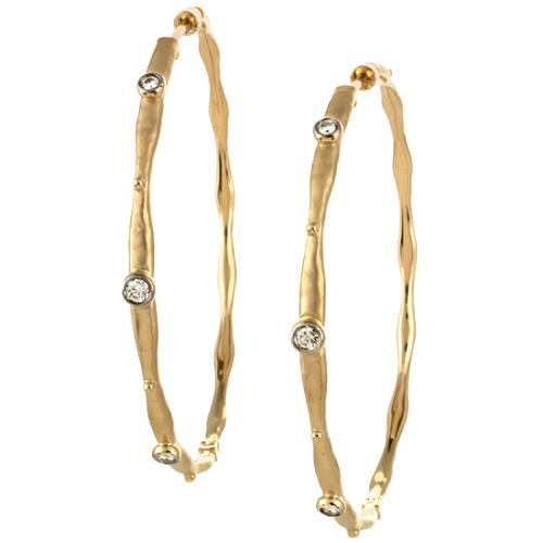 Gabriel & Co. Diamond Hoop Earrings