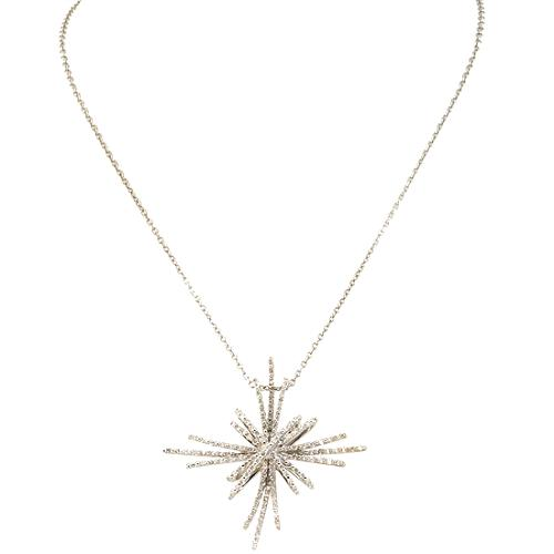 Gabriel & Co. Diamond Starburst Pendant