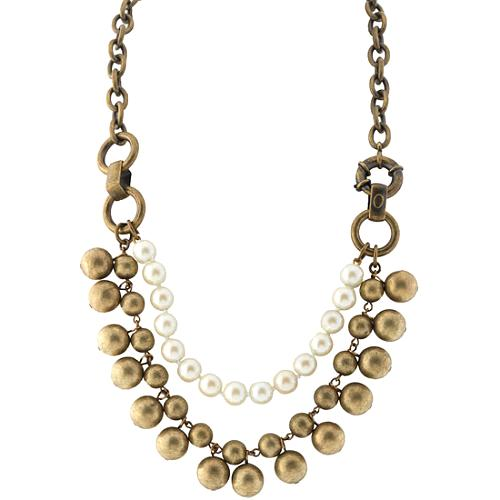 Gerard Yosca 3 Row Beaded Necklace