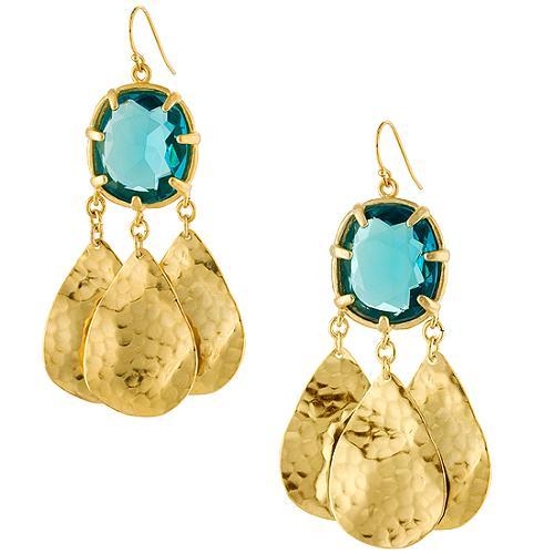 Gerard Yosca Chandelier Earrings