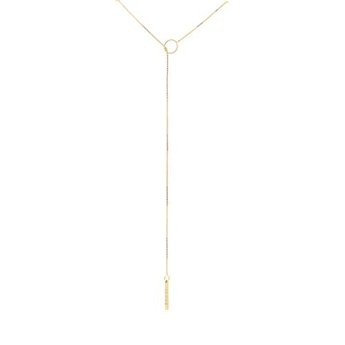 Gucci 18kt Yellow Gold Lariat Necklace