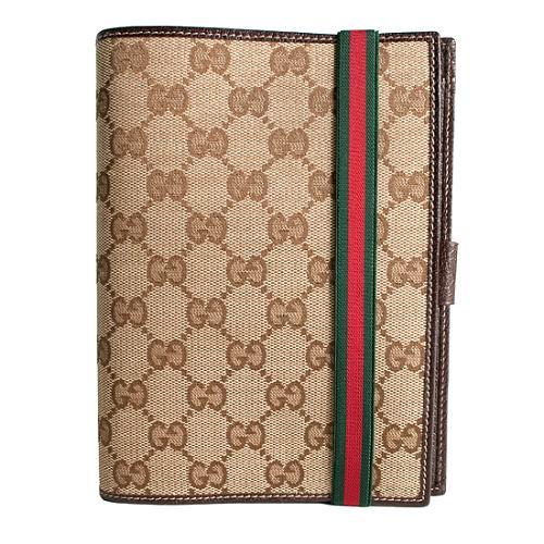 Gucci GG Fabric Standard Agenda Cover