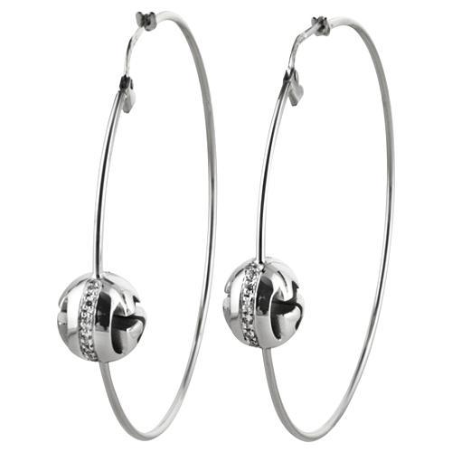 Gucci Icon Boule Hoop Earrings
