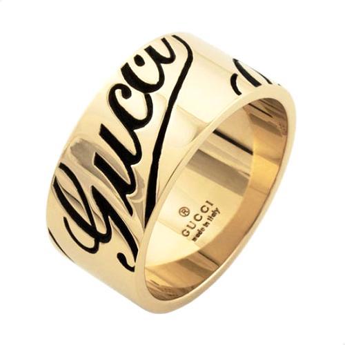 Gucci Icon Prints Ring - Size 7